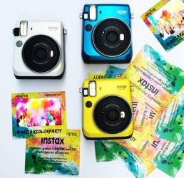 instax color party