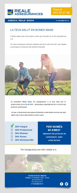 newsletter reales